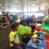 Children's day out at Chuck E Cheese.